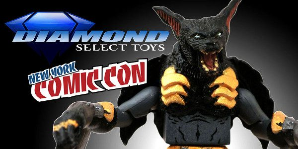 New York Comic-Con is approaching, and Diamond Select Toys is prepping a massive presence at the show, with cases of advance prototypes, shelves of products for sale, a panel, two […]