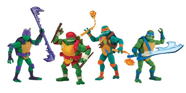 Playmates Toys Introduces Newly Designed Toy Line, Inspired by Nickelodeon's New Animated Series, Rise of the Teenage Mutant Ninja Turtles Cowabunga – the heroes in a half shell have returned […]