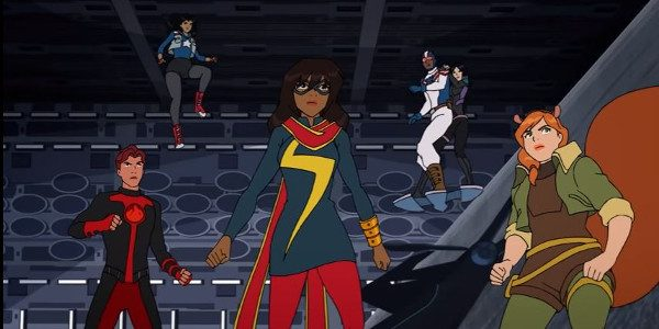 What can I say without spoiling this…wow and awesome! This reminds me of A-force a whole lot. All the voice actors are great, the style is great and for the […]