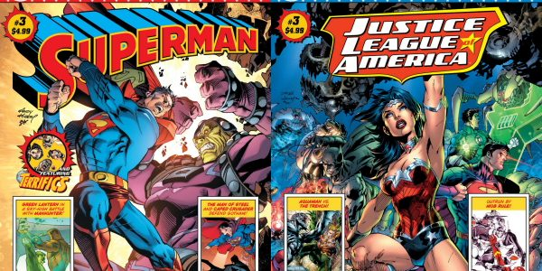 Bestselling HARLEY QUINN Team of Conner, Palmiotti, Hardin and Sinclair Reunite in Justice League 100-Page GIANT for New Wonder Woman Story Issue #3 of the 100-Page SUPERMAN GIANT comic, along […]