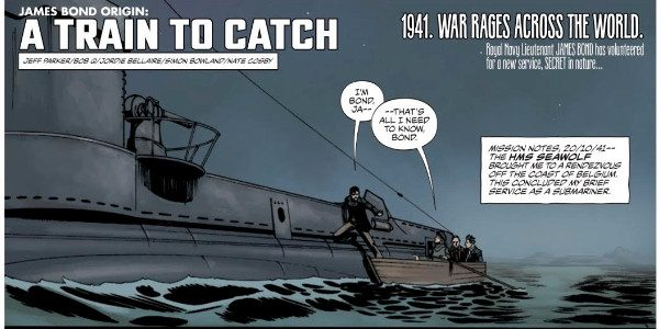 Jeff Parker & Bob Q's New Series Revealing James Bond's History Featured in November/December Issue Dynamite Entertainment and Ian Fleming Publications Ltd. announced today that thelatest James Bond series,James Bond […]