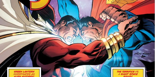 For 5 bucks, get a hundred pages of comic, as DC Comics works with US Walmart stores. It's Superman Giant, issue 4! On the cover, we see Superman and Shazam […]