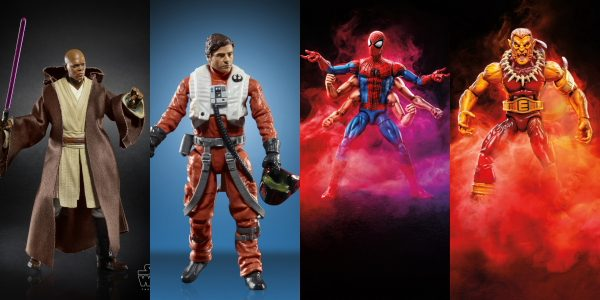 Exciting Hasbro Marvel and Star Wars reveals coming out of the Lucca Comics and Games panel this afternoon. HASBRO MARVEL LUCCA COMICS & GAMES REVEALS 2018  Marvel Legends Series […]