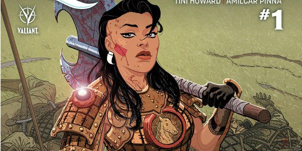 As first revealed at Comic Book Resources, Valiant is proud to announce THE FORGOTTEN QUEEN #1 – the launch of a brand new limited series by rising star writer Tini […]