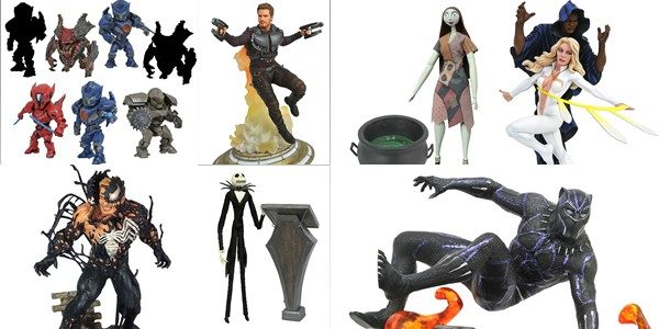 This week is a big week for giant robot fans, as the first-ever assortment of D-Formz PVC Figurines, based on Pacific Rim Uprising, hits stores! They're actually very small, but […]
