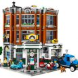 An impressive 3-level detailed LEGO Corner Garage, containing over 2,500 pieces, is coming this January!