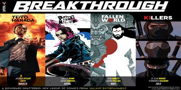 BREAKTHROUGH is a boundary-shattering lineup of new #1s fromValiant Entertainment that will serve as perfect jumping-on points for new fans while expanding the shared universe. BREAKTHROUGH offers every reader four […]