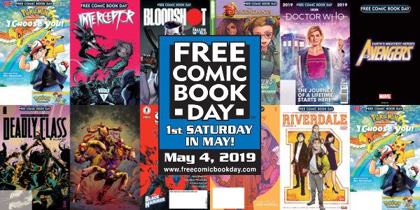 This year's Gold Sponsor lineup features a free comic for every fan imaginable The Free Comic Book Day (FCBD) Committee has selected the twelve Gold Sponsor comic book titles for […]