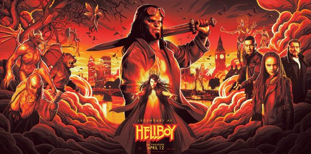 Lionsgate has released the trailer for Hellboy!   Based on the graphic novels by Mike Mignola, Hellboy, caught between the worlds of the supernatural and human, battles an ancient sorceress […]