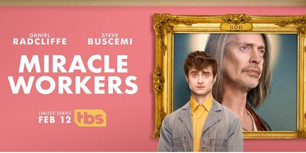 The anthology series starring Steve Buscemi and Daniel Radcliffe premieres Tuesday, February 12, at 10:30pm ET/PT. The first season ofMiracleWorkersis a Heaven-set workplace comedy based onSimon Rich's bookWhat in God's […]