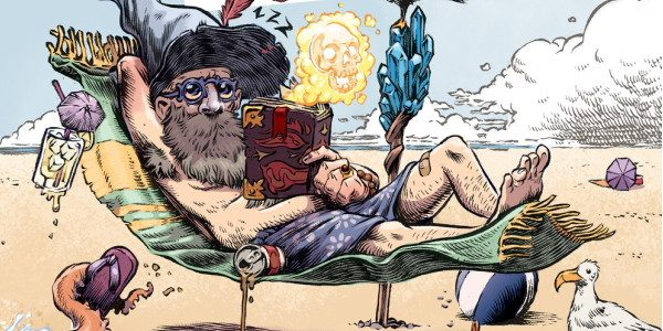"It has all the makings of a fine new series: it's Wizard Beach, from BOOM comics. But is it ""magic wand"", or ""gotta WANDer""? The story is this: The Wizards' […]"
