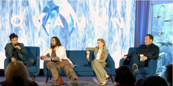 On Saturday, the cast and director of Aquaman has a press conference to talk about the film This was my first time covering a major studio press conference, so to […]