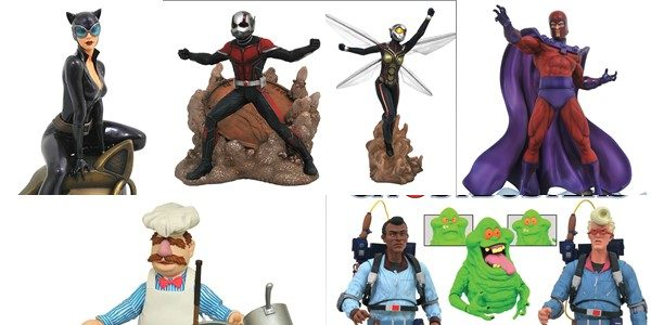 It's New Toy Day, and this week DST is shipping some highly-anticipated items to comic shops across the country! Select action figures of the Real Ghostbusters and the Muppets' Swedish […]