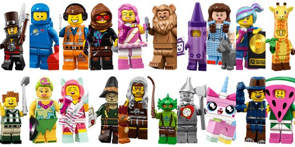 Just Revealed Lego Minifigures Inspired By The Lego Movie 2