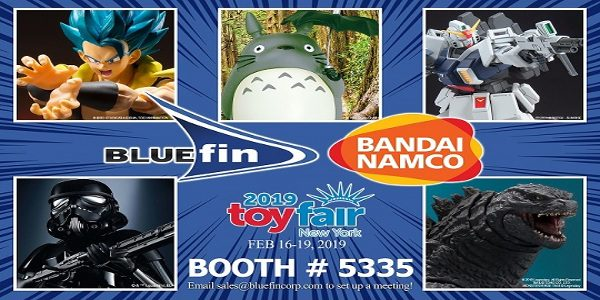 Leading Collectibles Distributor Heads To The Toy Industry's Largest Annual Event With Hot New Products For Popular Properties Including Godzilla, Transformers, Mortal Kombat, Power Rangers And Mobile Suit Gundam Bluefin, […]