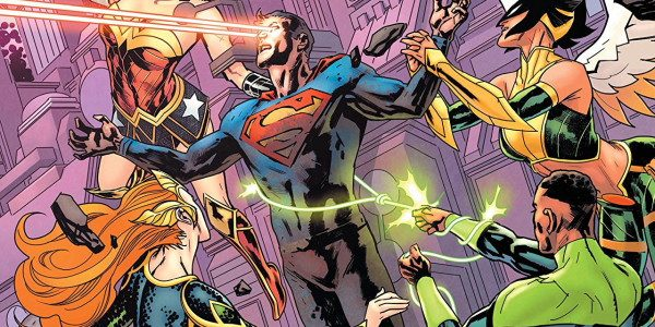 Now with the awakened Starman, and the League reunited, the League has one mission in mind. The mission is to fix the source wall and save the multiverse with the […]
