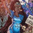 Dark Horse Comics releases a rebel fight of New Yorkers protesting about equal rights in Laguardia on its second issue.
