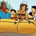 There's something comforting about reading a comic about summer camp in the middle of January. Maybe you will feel the same way about Lumberjanes issue 58, from BOOM! Box.