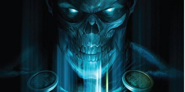 From Dynamite, Project Superpowers #5 starts off with a powerful cover, courtesy of Francesco Mattina. It's an Xray, or a skeleton, or something. But captivating and a nice graphic, all […]