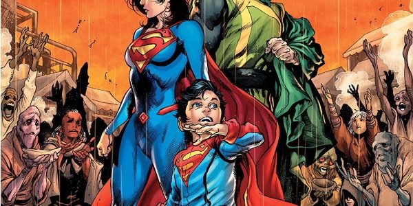 """As the cover asks, along with a sort of retro style visual: """"What Happened? Superboy's Lost Years."""" The typography ain't no Gaspar Saladino, but we get the point. This is […]"""