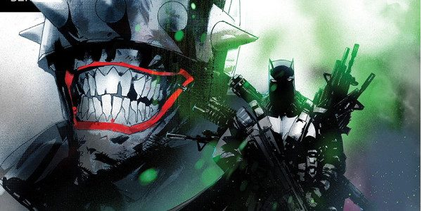 Infected with the Joker Virus, Batman struggles to maintain his sanity as the Batman Who Laughs continues his killing spree among the streets of Gotham. As the Joker's life hangs […]