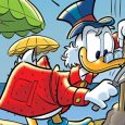 Uncle Scrooge reveals the long and winding road he traveled to accumulate his fourth million dollars in IDW/Disney's Uncle Scrooge My First Millions issue 4.