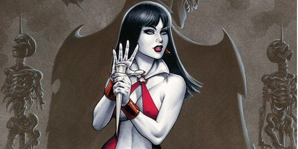 Vampirella, The Dynamite Years Omnibus Volume 4 brings us a collection of miniseries: Included in this Omnibus are: Secret Legion issues 1-5, written by Joe Harris, illustrated by Jose Malaga […]