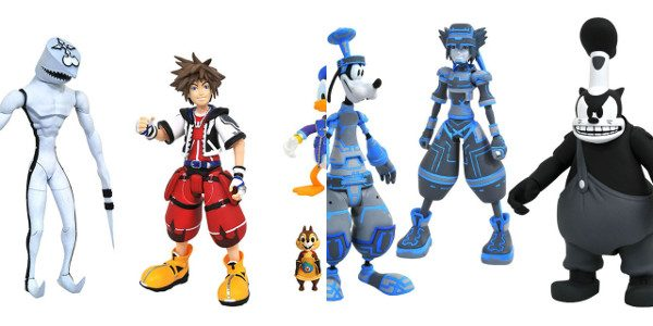 Since the start of the Kingdom Hearts action figure line by Diamond Select Toys, Walgreens has carried their own single-pack assortments, each with an exclusive figure. Now, with the third […]
