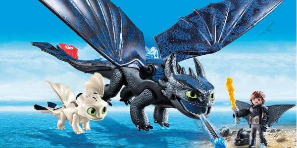 PLAYMOBIL has released images from their new toy line based on the upcoming movie:  How to Train Your Dragon: The Hidden World PLAYMOBIL Hiccup and Toothless with Baby Dragon (70037): Hiccup […]
