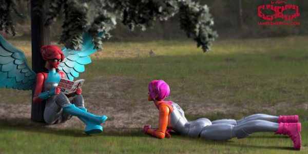 """Toy Startup That Reinvented the Female Superhero Offers Children's Books, Promotes Literacy in Partnership With """"United Through Reading"""" Pioneering toy startupIAmElemental, creator of the first female action figures designed specifically […]"""