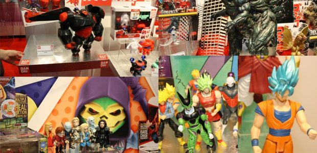With some hot properties under their belt, Bandai makes a great showing at Toy Fair We swung by the Bandai booth and was happily surprised.  Bandai is continuing with the […]