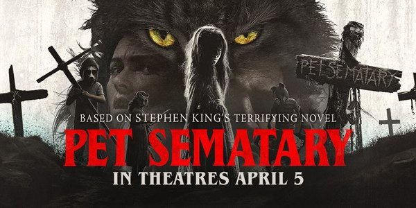 Paramount Pictures has released the latest trailer for PET SEMATARY Based on the seminal horror novel by Stephen King, Pet Sematary follows Dr. Louis Creed (Jason Clarke), who, after relocating with his […]