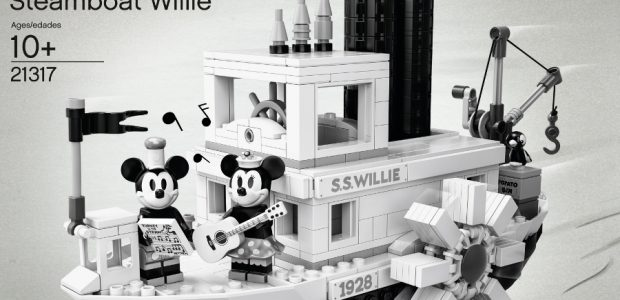 The LEGO Ideas Steamboat Willie set will be available April 1. The set features a LEGO brick built version of the S.S Willie, with steam pipes that move up and […]