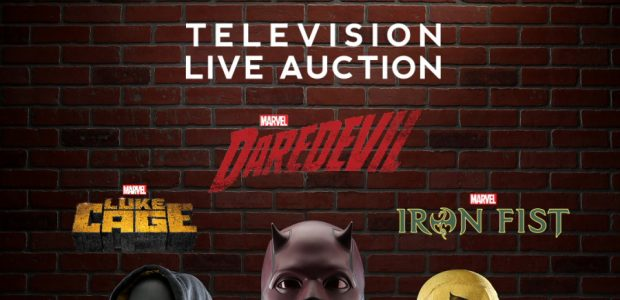 • A UNIQUE OPPORTUNITY FROM MARVEL AND PROP STORE TO BID ON ORIGINAL PROPS AND COSTUMES USED TO MAKE THE HIT MARVEL TELEVISION SHOWS: DAREDEVIL, LUKE CAGE AND IRON FIST […]