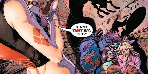 Harley's second trial begins this issue and its a doozy. Harley is going to have to channel her inner Jeff Goldblum if she wants to pass this trial as it's […]