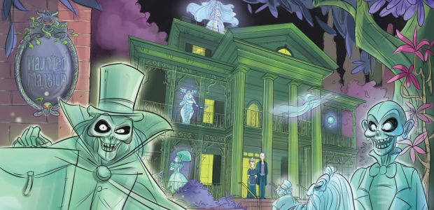 "Celebrate the 50th Anniversary of Disneyland's Spookiest Attraction with an All-New Illustrated Adventure This September, IDW proudly welcomes ""foolish mortals"" of all ages to the Haunted Mansion Original Graphic Novel, a brand-new illustrated journey […]"