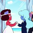 Cartoon Network's Emmy-nominated Steven Universe took home the award for Outstanding Kids & Family Programming at the 30th annual GLAAD Media Awards in Beverly Hills, Calif. on March 28.