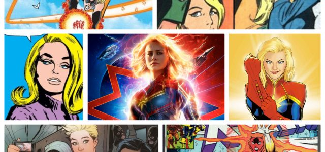 Before the movie comes out in March, take a look at Captain Marvel's comic book origin