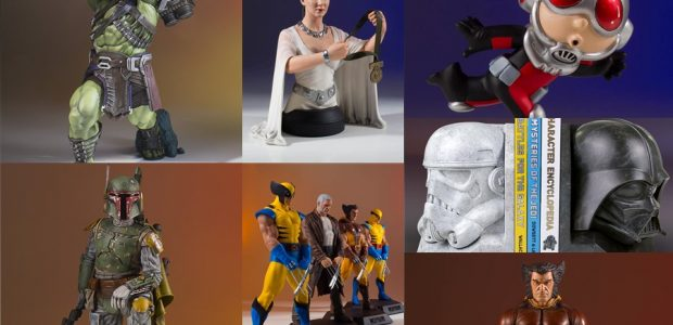Star Wars and Marvel collectors, your ship has come in! Eight new items are back in stock at GG LTD HQ, and they are now up on the site and […]