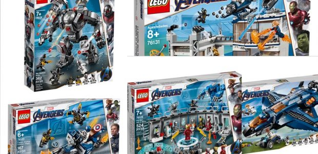 Ahead of the highly anticipated Avengers: Endgame, The LEGO Group is releasing 5 construction sets inspired by the film. 76123 – LEGO® Marvel™ Super Heroes Captain America: Outriders Attack 167 […]