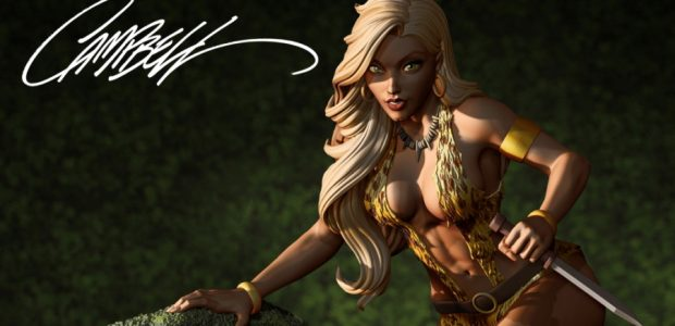 Support the Campaign and Help Choose the Variant Produced Coinciding with the Chicago Comic & Entertainment Expo 2019 (C2E2),Dynamite Entertainment launches a Kickstarter for a stunning Sheena statue based on […]