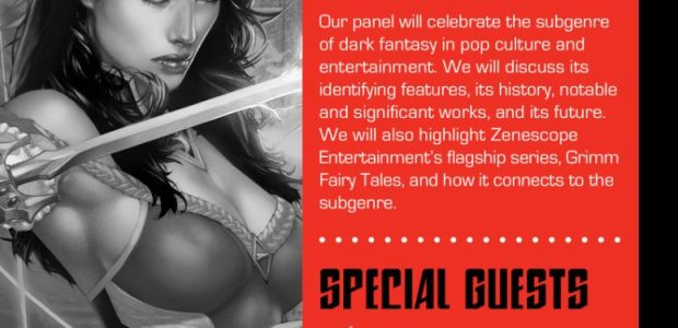 Comic book and graphic novel publisher, Zenescope Entertainment, has announced its plans for Chicago Comic & Entertainment Expo 2019. The convention will run March 22nd-24th, 2019 and will be located […]