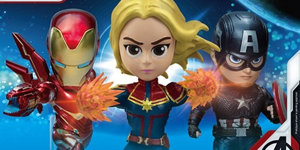 Just a week before Avengers: Endgame hits theaters, Beast Kingdom is rewarding fans with a new line of PREVIEWS Exclusive Mini Egg Attack figures  featuring Captain Marvel, Captain America and Iron Man and two new PREVIEWS Exclusive Egg […]