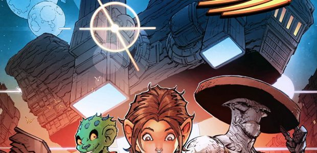 Stone Star #1, a new indie digital title, comes to us fresh from outer space, courtesy of writer Jim Zub and artist Max Dunbar (colours by Espen Grundetjern). This five-part […]