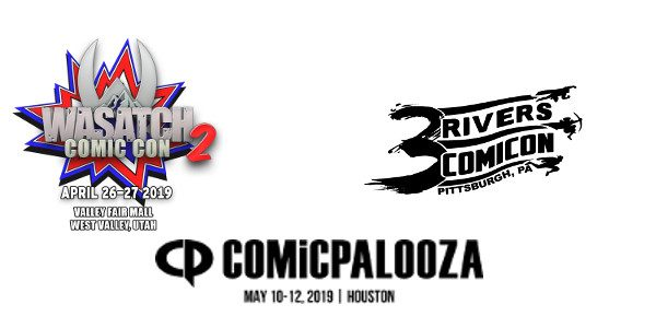 Valiant Entertainment is excited to announce the next three stops on its 2019 convention tour: Wasatch Comic Con in Salt Lake City, Utah; Comicpalooza in Houston, Texas; and 3 Rivers […]