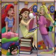 The iconic Disney princesses – Ariel, Belle, Jasmine, Rapunzel, and Snow White – are on display in new PREVIEWS Exclusive D-Stage statues from Beast Kingdom.