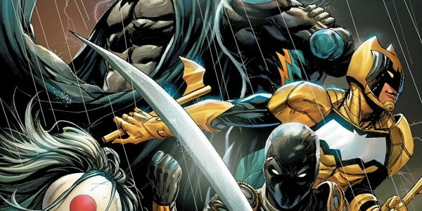 Black Lightning, Signal, Orphan, and Katana what a team up! Batman loves an underdog, each Outsider is just that little bit damaged and in need of help, I think Batman […]