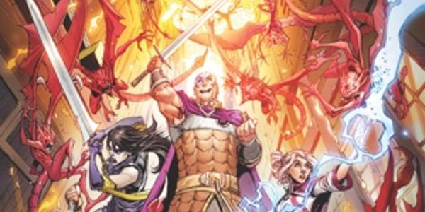 The Creative Team of Jim Zub and Max Dunbar Delve Into Upcoming D&D Sourcebook for Inspiration IDW Publishing reunites the Dungeons & Dragons: Legends of Baldur's Gate creative team of writer Jim Zub and artist Max […]