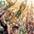 It's every Hawkman from all of time and space against an entire Deathbringer army!