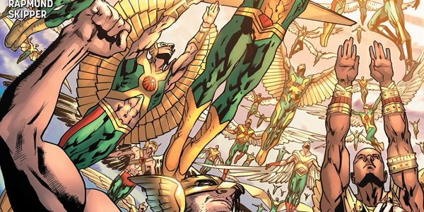 It's every Hawkman from all of time and space against an entire Deathbringer army! With the rest of England under attack by the Deathbringers, they have decided to unleash their […]